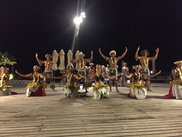 星のやタヒチのポリネシアンダンスショー