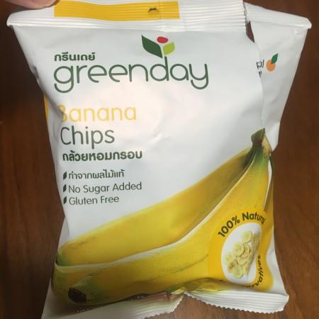 タイのバナナチップス