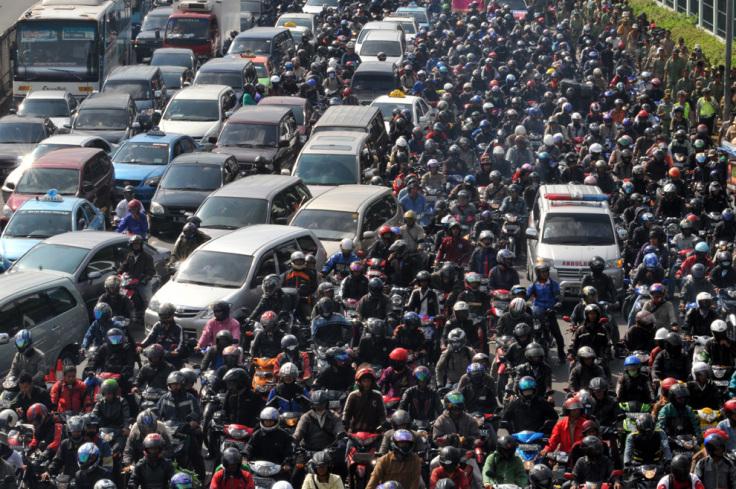 ジャカルタ交通渋滞
