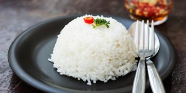 インドネシアの白米