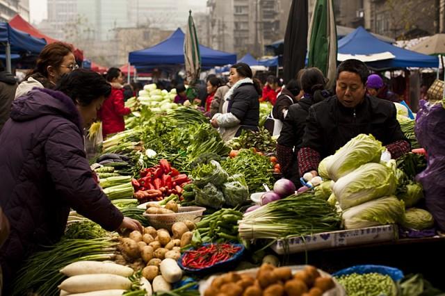 中国の危険な野菜