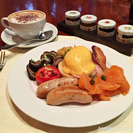 バンコク アナンタラサイアムの朝食