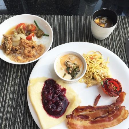 ホテルオークラバンコクの朝食