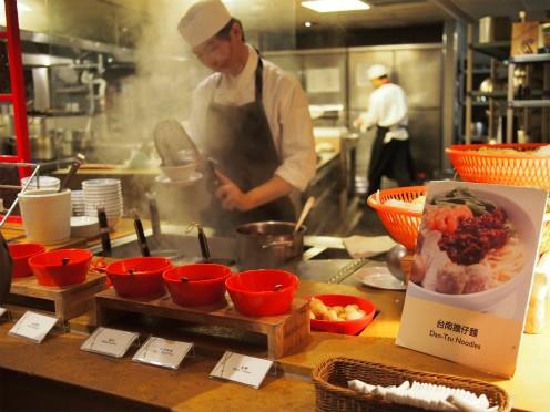 台南シャングリラホテルの朝食