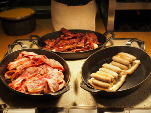 台南シャングリラホテルの朝食2